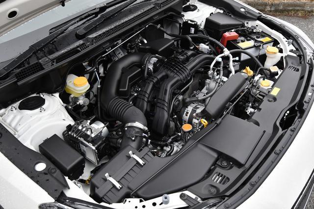 画像: 直噴化された2.0L NAエンジンはインプレッサに搭載されたものと同じ。JC08モード燃費は16.0〜16.4km/Lと優秀。