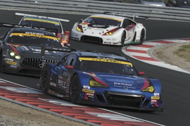 画像: スーパーGT300クラスに参戦しているスバルBRZ。モータースポーツ参戦車両のカッコ良さにも注目してます。