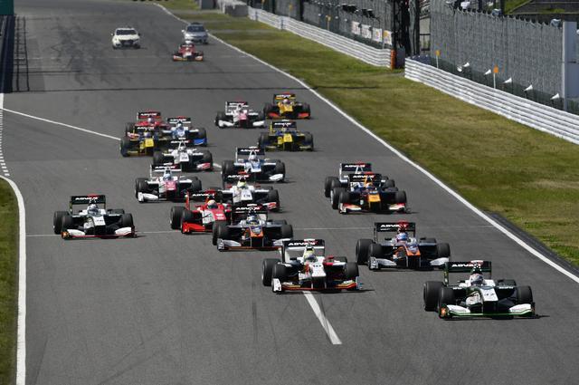 画像: ヨコハマは全日本スーパーフォーミュラ選手権シリーズに2016年シーズンからADVANタイヤをワンメイク供給している。