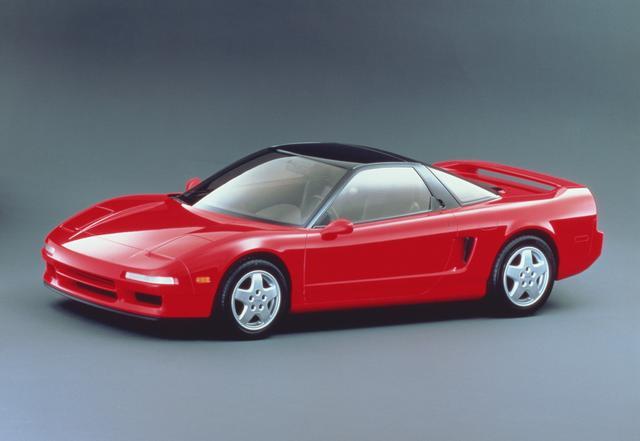 画像: 1989年のシカゴモーターショーで発表されたNS-X。
