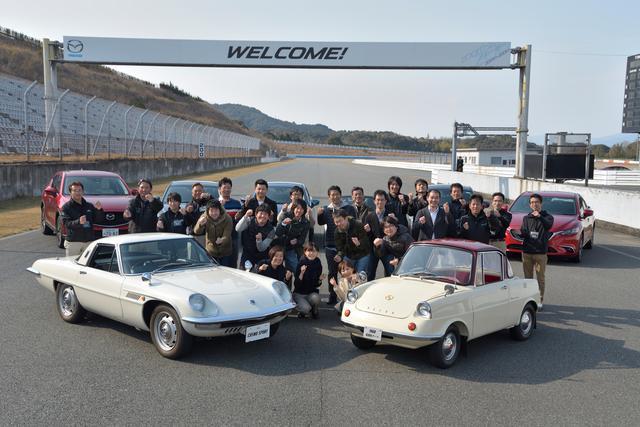 画像: 山口県にあるマツダのテストコース、美祢自動車試験場で体験会が開催された。