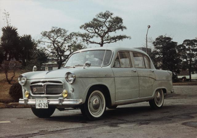 画像: スバル 1500( P-1 )は、20台が作成された試作車です。市販されることはありませんでした。