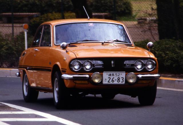 画像: 1971年にマイナーチェンジを実施。フロントマスクを大きく変更するとともに、車名も「GT Type R」と呼ばれるようになった。1973年3月まで生産された。