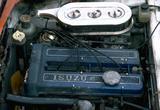 画像: ソレックス・ダブルチョークキャブレターを2連装したG161W型8バルブDOHCエンジン。970kgのボディを190km/hまで引っ張り、0−400m加速も16.6秒という、当時としてはトップレベルの性能を発揮した。