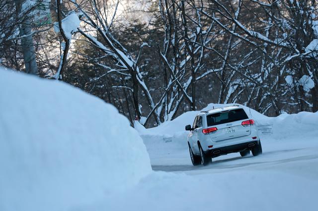 画像: 滑りやすい路面でも、安心して快適で安全な走りを楽しむことができた。