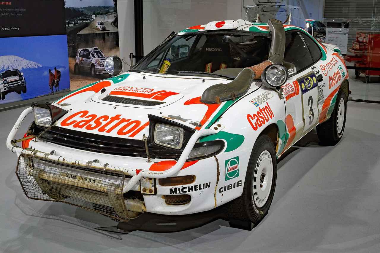 Toyota Celica 2017 >> 【写真館】トヨタ WRCマシン グラフィティ Vol.5 セリカ GT-Four(1995年) - Webモーターマガジン