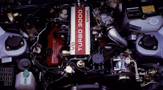 画像: 当時、オーバー200psを誇るエンジンはこのVG30ETしかなかった。その加速はまさに異次元だった。