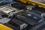 画像: 4L V8ツインターボエンジンは、AMG GTより35psアップの最高出力557psを発生、最大トルクは680Nmとなる。