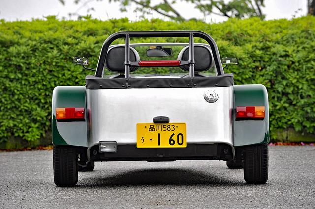 画像: スズキ・エブリィのリアアクスルを使い、フェンダーの幅を狭めて軽自動車の規格におさめている。