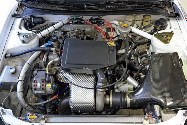 画像: エンジンは従来どおり3S-GT改。排気量は変わらないが、パワースペックは微妙に異なっている。