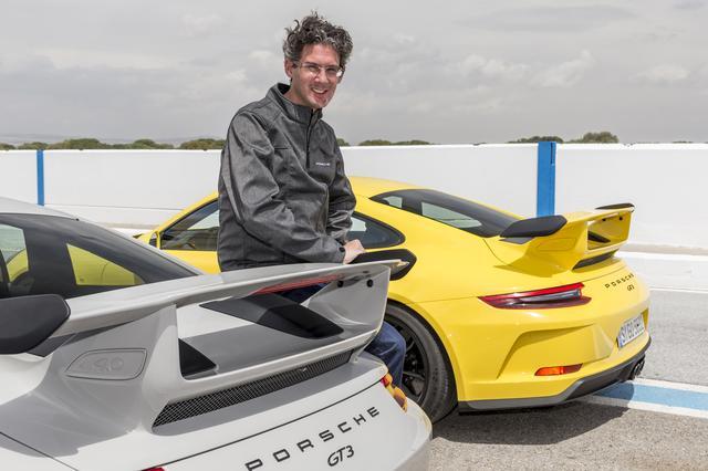 画像: ポルシェのモータースポーツ&GTカー担当のフランク-シュテファン・ヴァイザー副社長。
