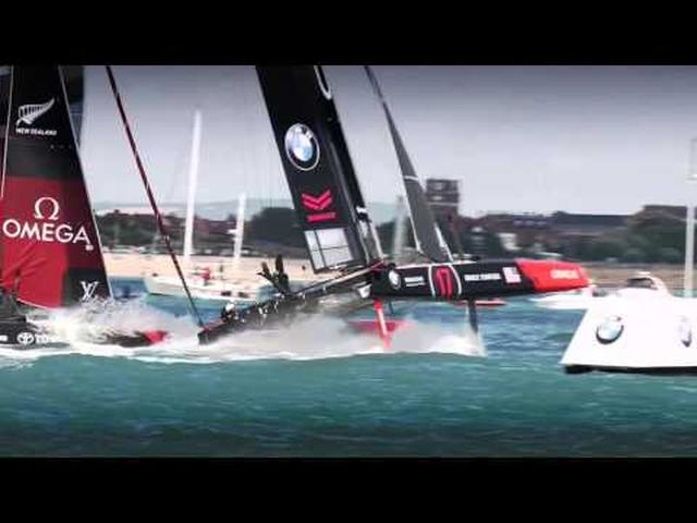 画像: Join the action - Louis Vuitton America's Cup World Series Portsmouth 2016 www.youtube.com