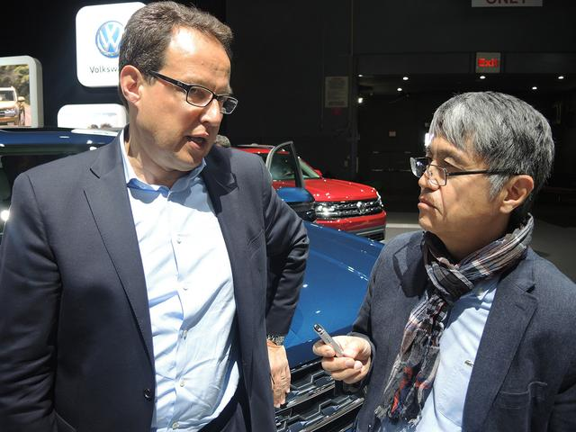 画像: フォルクスワーゲン北アメリカのヒンリッヒ・ヴェッブケン社長はアトラスを「北米市場にマッチしたクルマ」と表した。