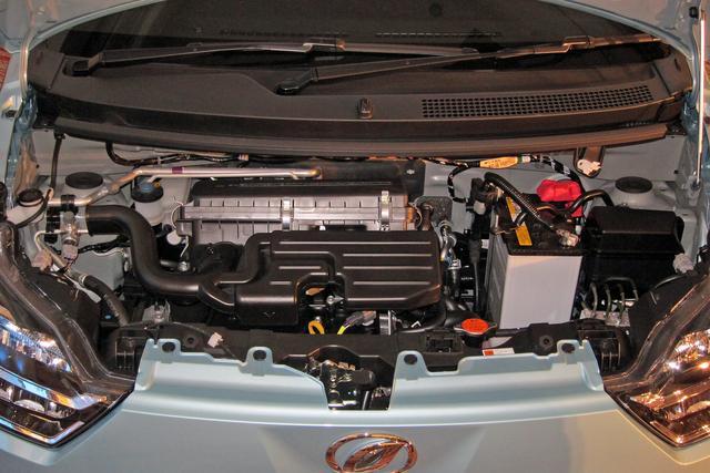 画像: エンジンは基本的に従来型のキャリーオーバーだが、走りの質を追求し、基本性能を向上している。
