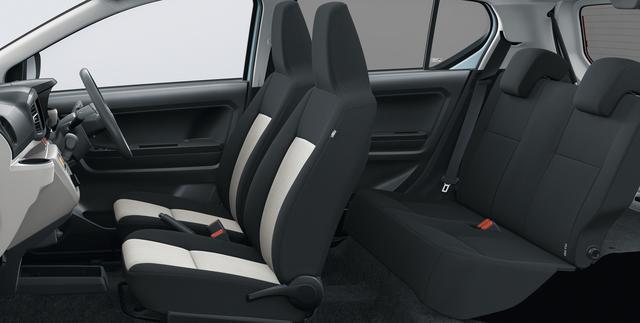 画像: 新設計のシートは収まり感とハンドル操作時のホールド性を両立した。