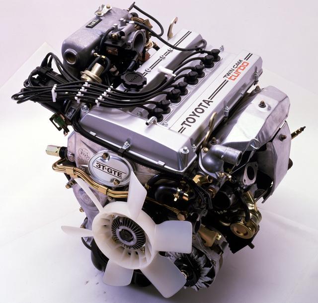 画像: 「ツインカムかターボか」論争に終止符を打った3T-GEUエンジン。T型としては最後の新開発エンジンとなった。