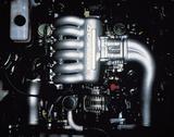 画像: 「3ROTOR」の文字が輝く20B。300ps以上を前提に開発されていた。