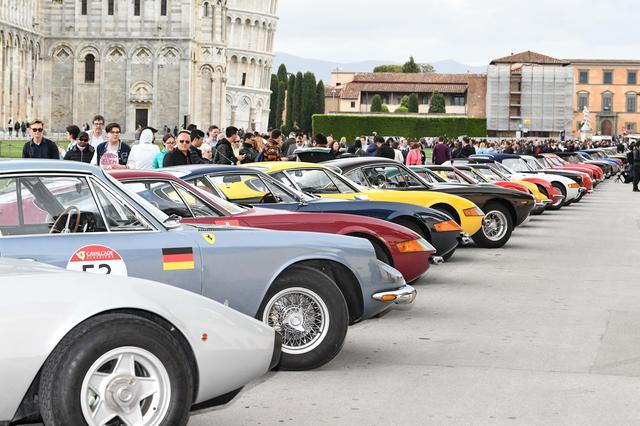 画像6: 【海外イベント】歴代フェラーリ70台がイタリア・トスカーナでパレードラン