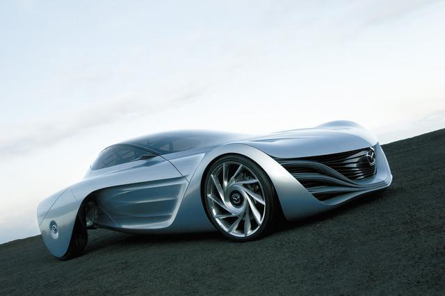 画像: 「大気( TAIKI)」は次世代ロータリーエンジンを搭載した将来の FRスポーツカーをイメージしたモデル。