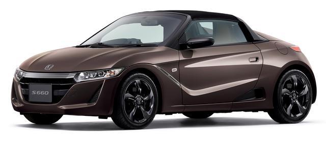 画像: アダルト・テイストでまとめられた「ブルーノ レザー エディション(写真のボディカラーは特別色のベルベットマルーン・メタリック)」。6月2日から11月30日までの期間限定車。