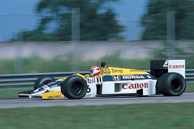 画像: Williams FW11(1986年)/展示・デモンストレーションラン予定。1000馬力を超えるHondaのV6ターボエンジンを搭載したマシン。ナイジェル・マンセルが5勝、ネルソン・ピケが3勝を記録し、3度目となるコンストラクターズチャンピオンを獲得した。