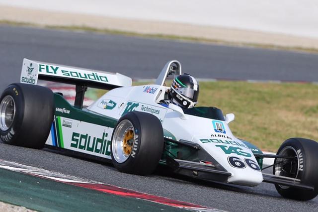 画像: Williams FW08(1982年)/展示・デモンストレーションラン予定。コスワースDFVエンジンを搭載、堅実に入賞を重ねたケケ・ロズベルグが、わずか1勝ながらドライバーズチャンピオンを獲得した。