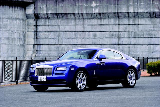 画像: ロールスロイス  レイス。超高級車でありながら派手なボディカラーがよく似合う。