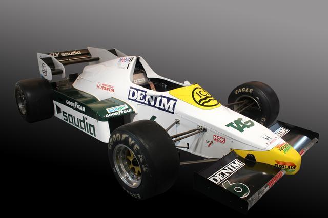 画像: Williams FW09(1984年)/展示のみ。チーム初のターボエンジン搭載マシン。第9戦アメリカグランプリで優勝。Hondaエンジンとしては実に17年振りの優勝だった。この優勝は、この後に展開されるウイリアムズとHondaターボエンジンの快進撃のスタートとなった。