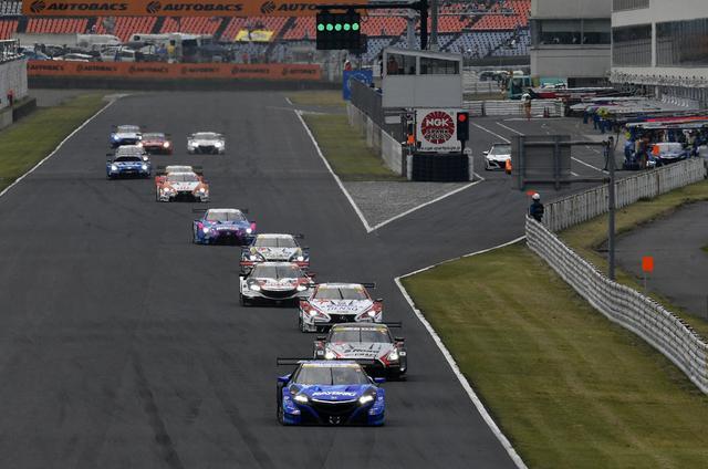 画像1: レクサス3連勝!【スーパーGT】Rd03オートポリス au TOM'S LC500が優勝、2位3位はNSX-GT!