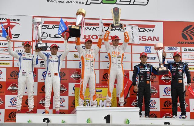 画像5: レクサス3連勝!【スーパーGT】Rd03オートポリス au TOM'S LC500が優勝、2位3位はNSX-GT!