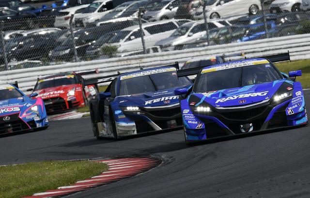 画像4: レクサス3連勝!【スーパーGT】Rd03オートポリス au TOM'S LC500が優勝、2位3位はNSX-GT!