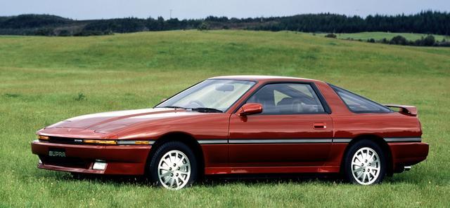 画像: セリカXX改め、北米と同じ「スープラ」を名乗るようになる。デビュー当初は全車5ナンバーサイズボディだったが、87年に最上級グレードに北米と同じワイドボディを採用する(88年には3リッター車はすべてワイドディになった)。