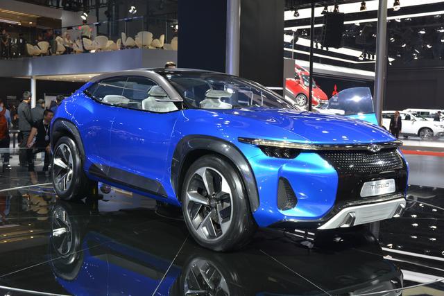 画像: 民族系ブランド「チェリー」のコンセプトモデル。SUVも根強い人気。