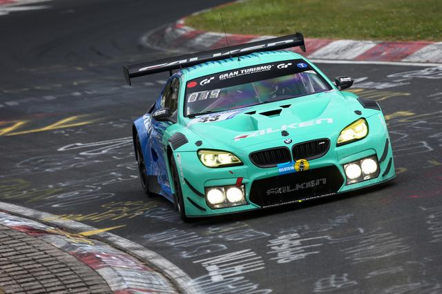 画像: ニュル24時間に参戦するFALKEN Motorsportsの「BMW M6 GT3」。