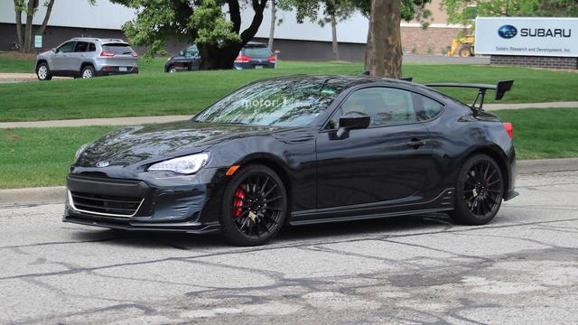 画像: It's Real! Subaru BRZ STI Prototype Caught Testing
