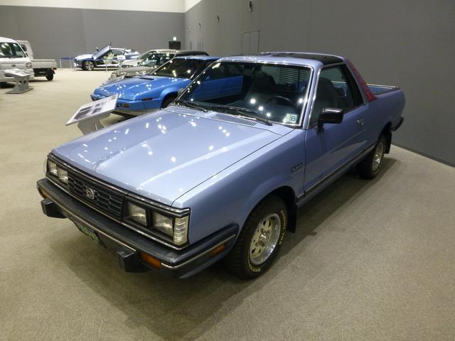 画像: スバルブラット(1977〜)。アメリカで人気を博した2シーターRV。
