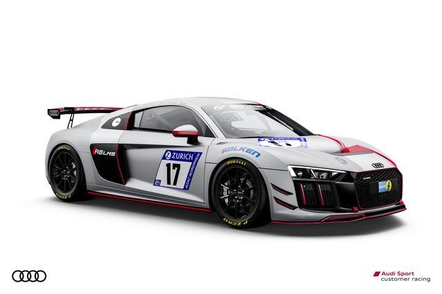画像: アウディスポーツ チームフェニックスからのエントリー。R8 LMS GT4。
