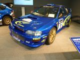 画像: インプレッサWRカー2000(2000)。WRC第14戦グレートブリテン優勝車。