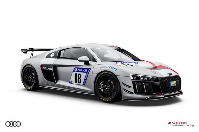 画像: もう1台のR8 LMS GT4。こちらもアウディスポーツ チームフェニックスからのエントリーだ。