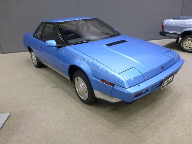画像: 初代アルシオーネ(1985)。スバル初のスペシャリティカー。
