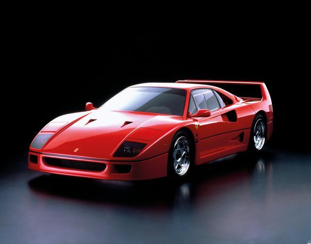 """画像: 【トピックス】フェラーリ70周年の今年、思い出されるあの名車""""F40""""のバブリーな話 - Webモーターマガジン"""
