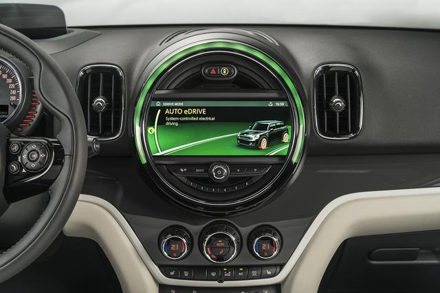 画像: 標準設定のオートeDriveモードでは、80km/hまでは完全にEV走行する。