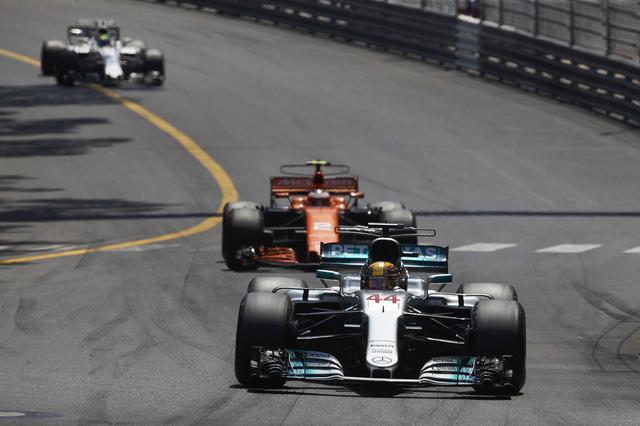 画像: 予選13位から7位まで順位を上げたハミルトン。モナコではこれが精一杯だった。