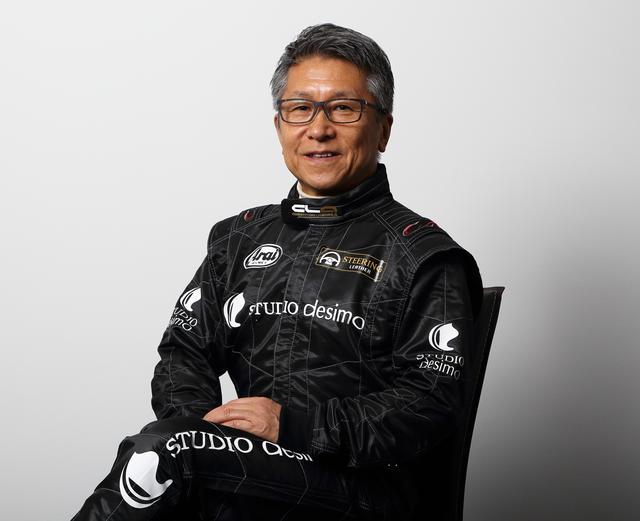 画像: 筆者の松田秀士氏。ご自身1994年からインディ500に参戦、1996年には8位に入賞している。