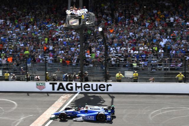 画像: インディ500で優勝した佐藤琢磨(Andretti Autosport)のマシン。