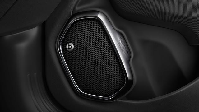 画像: 専用チューニングされた、高音質スピーカー「Beats Audio」を装備する。
