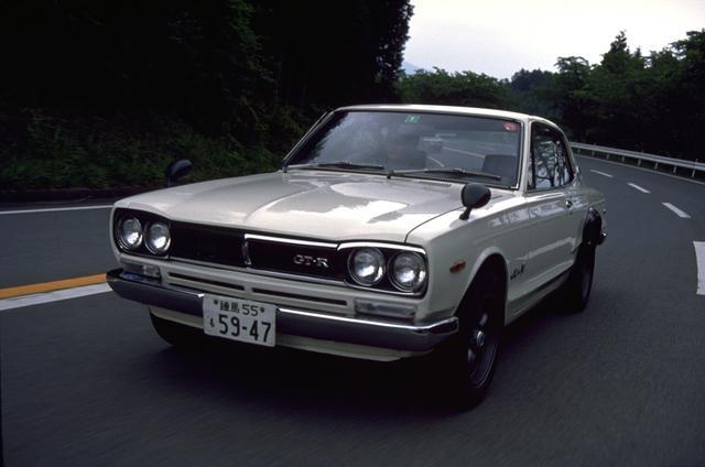 画像: GT-Rがはじめて登場した3代目のハコスカ。ケンメリが登場した後、その差別化のために愛称がついたとも言われている。