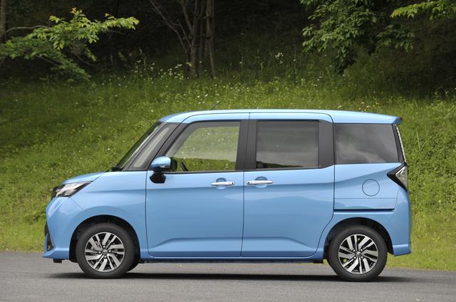 """画像: 今回の試乗車、トヨタ タンクG""""S""""の車両重量は1070kgとなる。"""