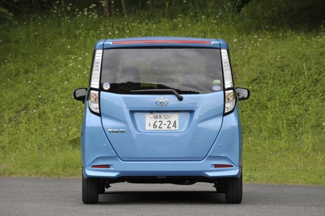 画像1: 【試乗】トヨタ・タンク オススメはターボモデル!