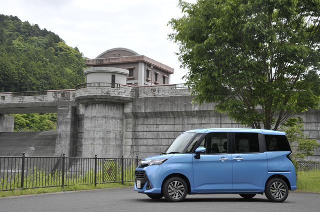 """画像: タンクG""""S""""の車両価格は168万4800円で、試乗車両にはこれに60万8364円のオプション装備が付いていた。"""